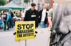 Stop Harassing the Artists
