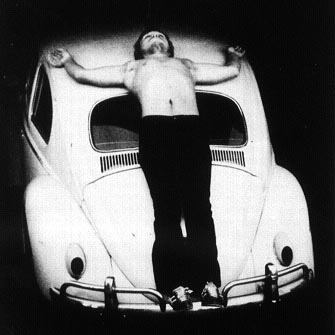 Chris Burden Transfixed